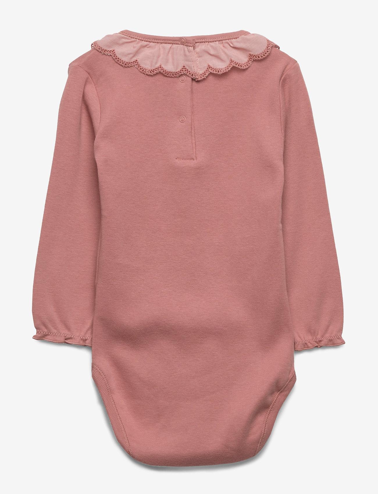 Noa Noa Miniature - Baby Body - long-sleeved - dusty rose - 1