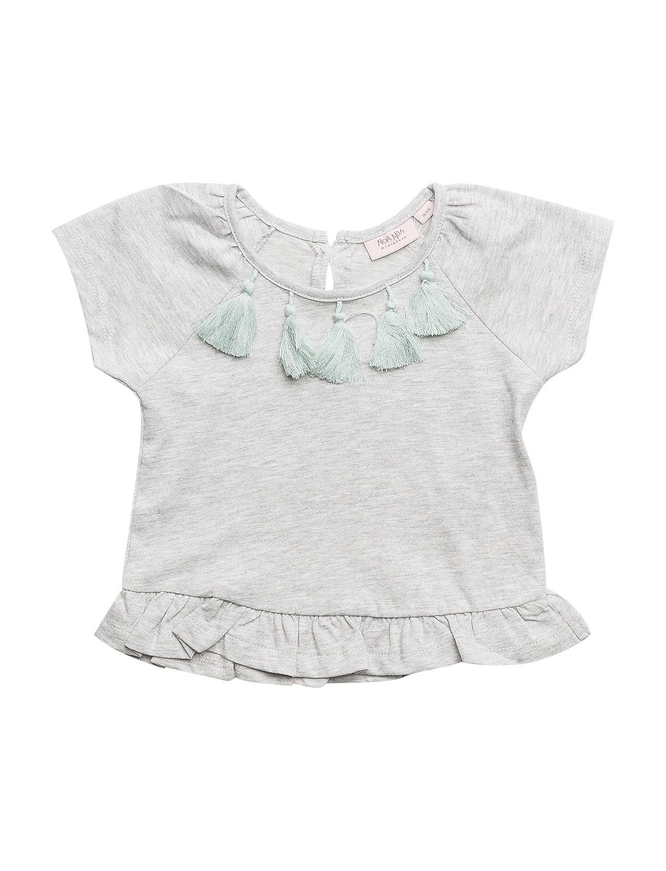 Noa Noa Miniature T-shirt - GREY MELANGE
