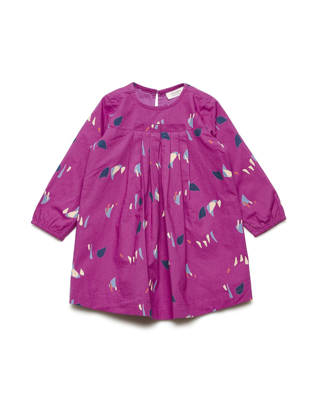 Noa Noa Miniature Dress long sleeve - MAGENTA HAZE
