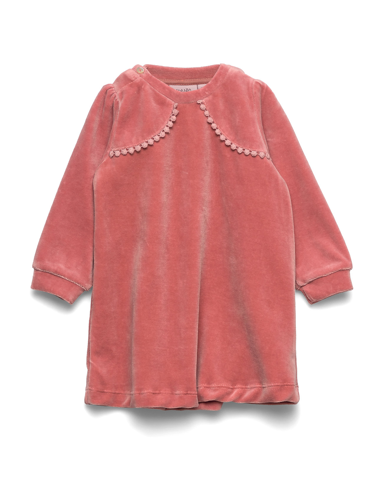 Noa Noa Miniature Dress long sleeve - OLD ROSE