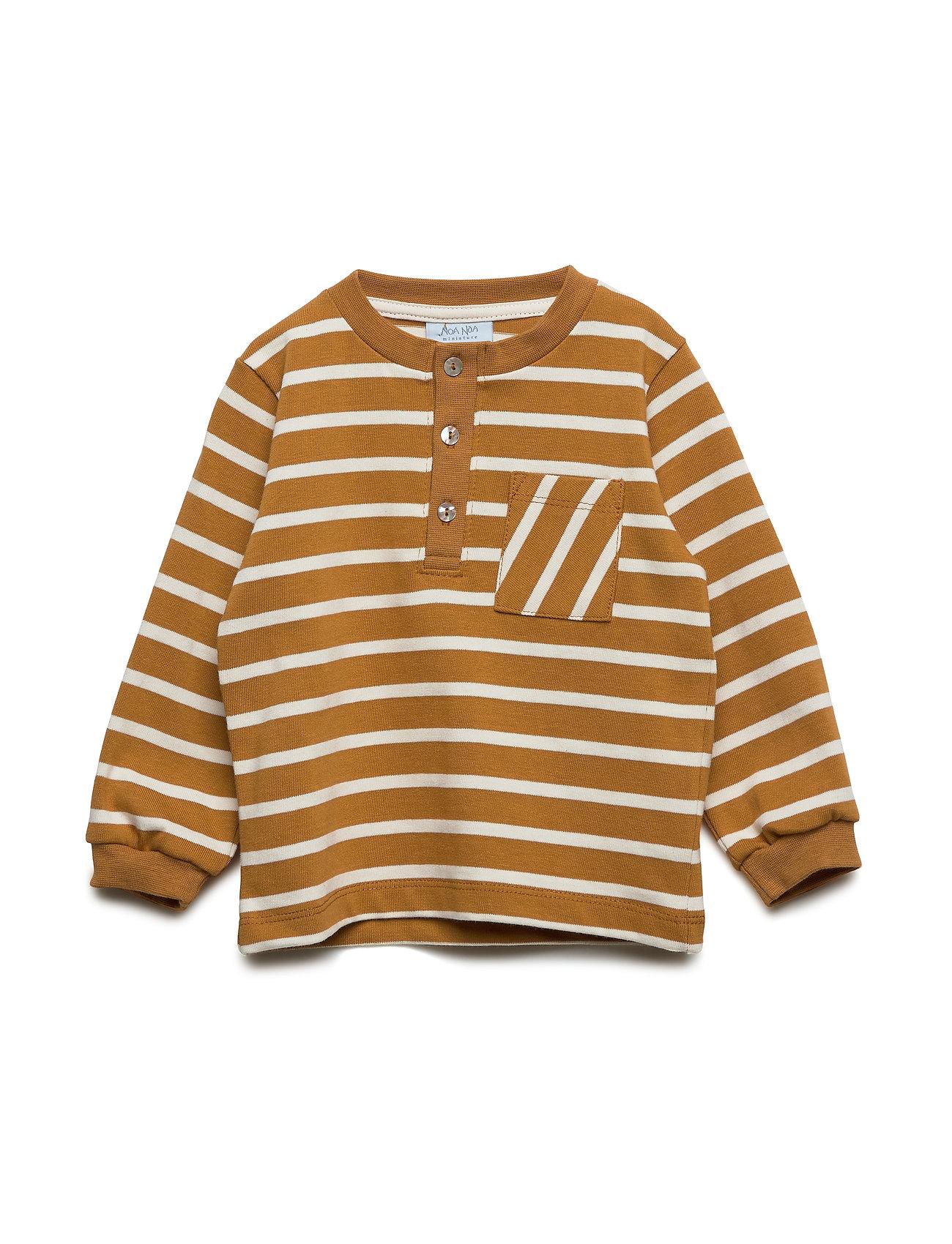 Noa Noa Miniature Sweatshirt - SUDAN BROWN