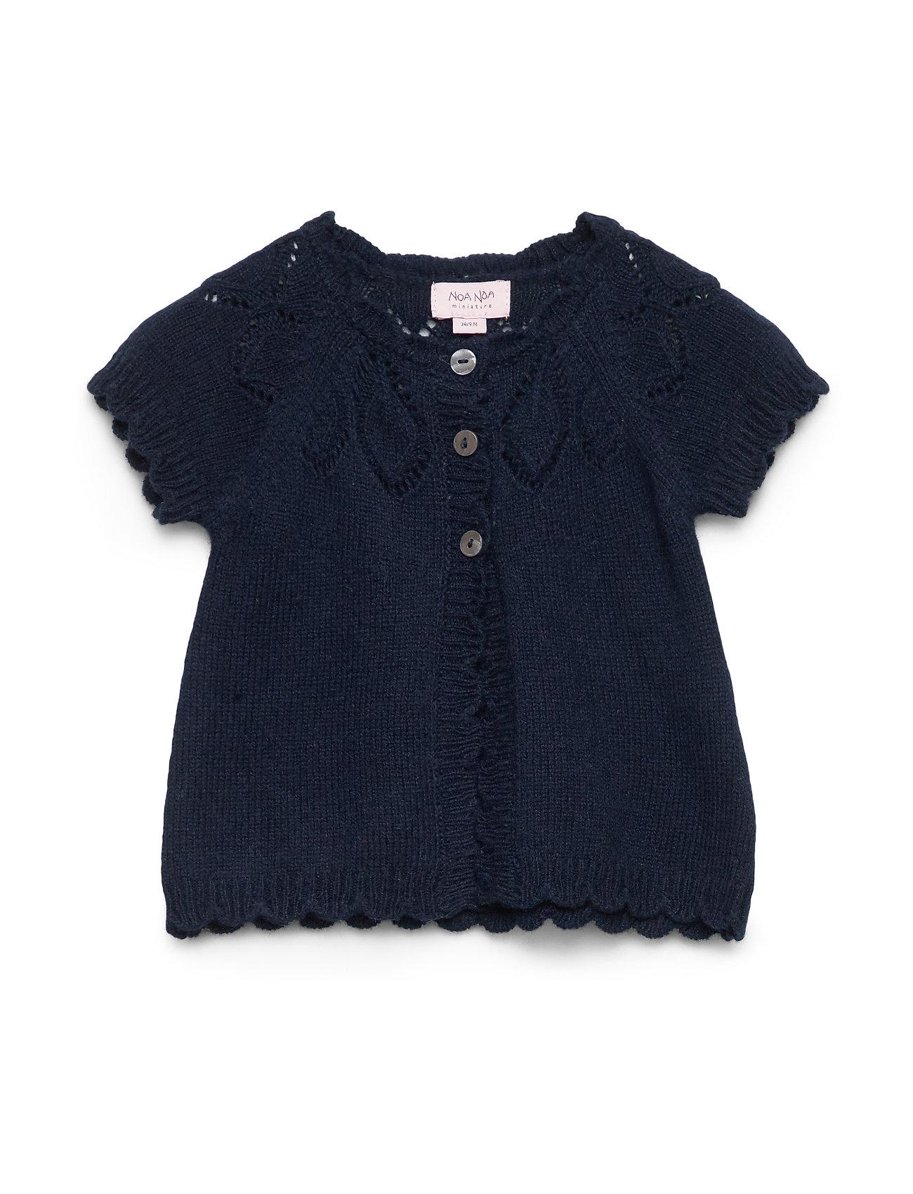 Noa Noa Miniature Vest - NAVY BLAZER