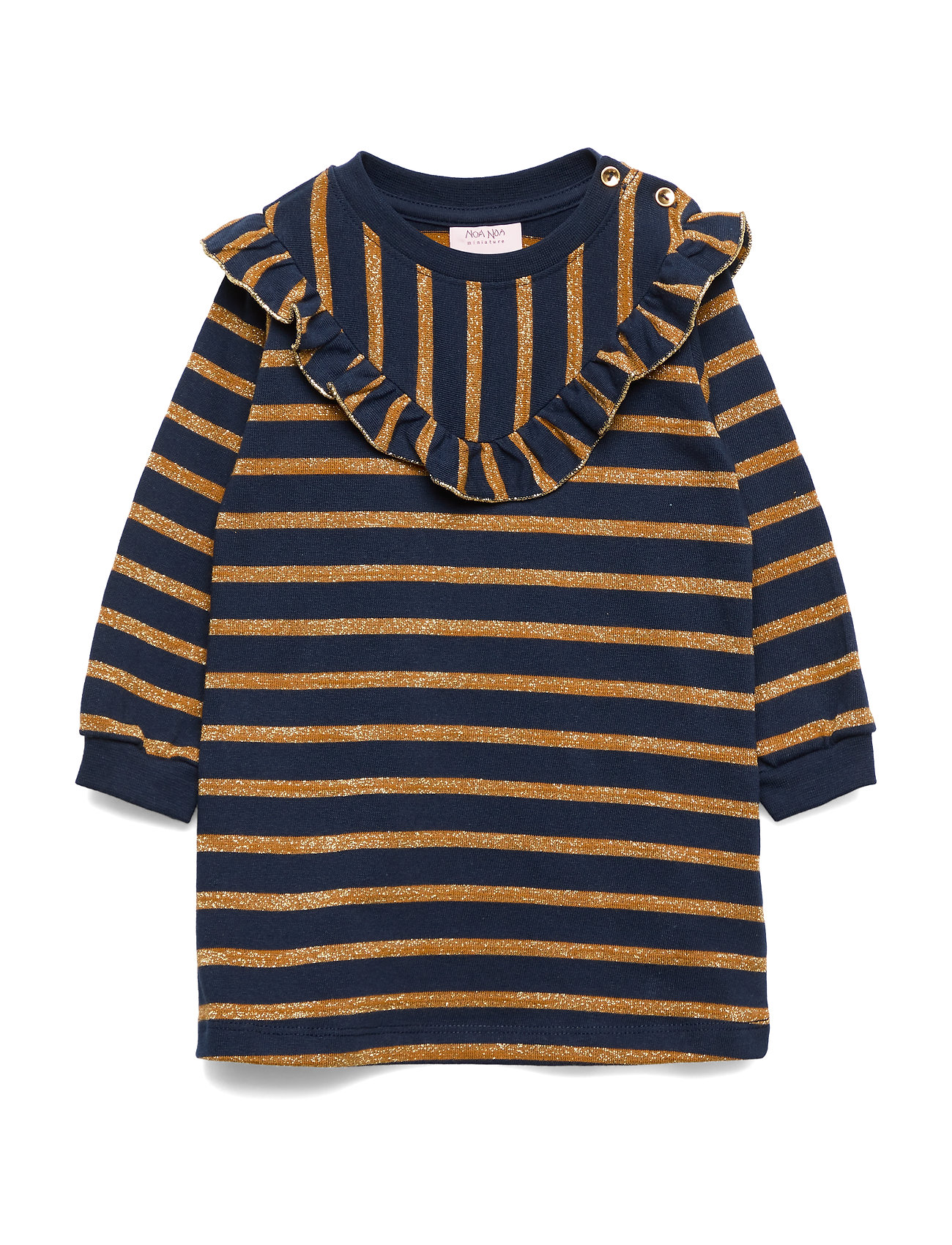 Noa Noa Miniature Dress long sleeve - NAVY BLAZER