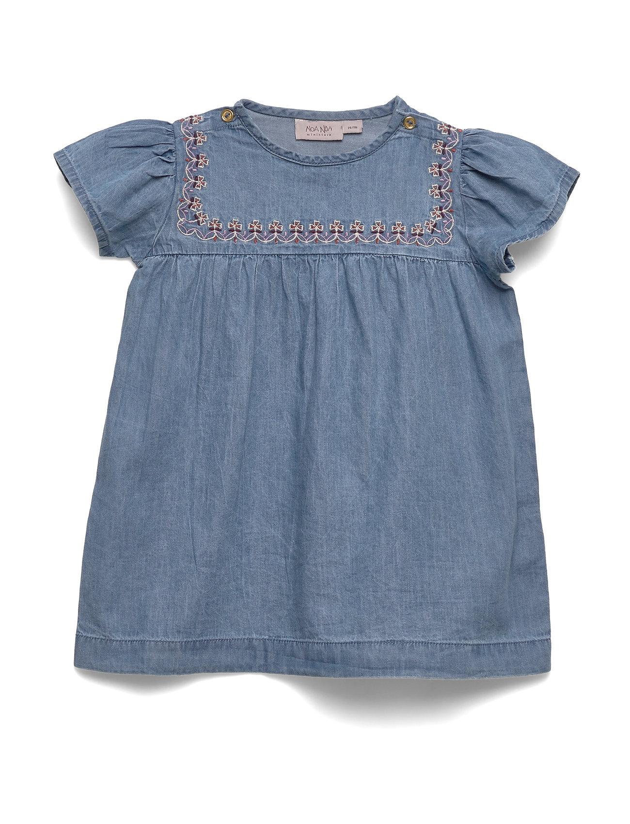Image of Dress Short Sleeve Kjole Blå Noa Noa Miniature (3406255093)