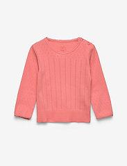 Noa Noa Miniature - T-shirt - long-sleeved t-shirts - shell pink - 0