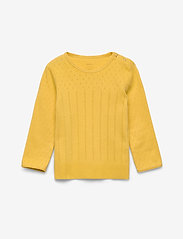 Noa Noa Miniature - T-shirt - long-sleeved t-shirts - spicy mustard - 0