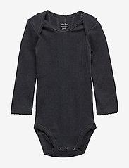 Noa Noa Miniature - Baby Body - long-sleeved - black - 0