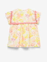 Noa Noa Miniature - Dress short sleeve - dresses - whisper white - 1