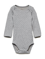 Baby Body - GREY MELANGE