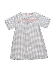 Dress short sleeve - CHALK