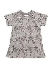 Dress short sleeve - GREY MELANGE