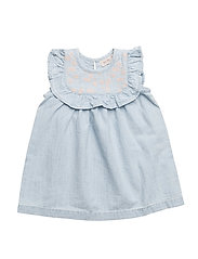 Dress sleeveless - DENIM LIGHT BLUE