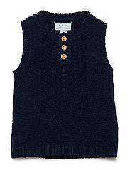 Vest - DRESS BLUE