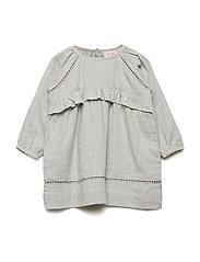 Dress long sleeve - GREY MELANGE