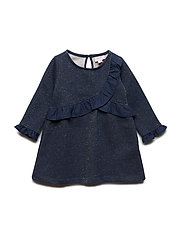 Dress long sleeve - DARK SAPPHIRE