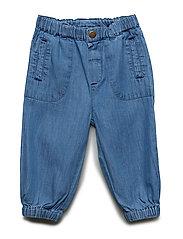 Trousers - NAVY PEONY