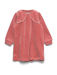 Dress long sleeve - OLD ROSE