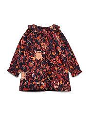 Dress long sleeve - NAVY BLAZER