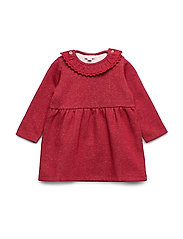 Noa Noa Miniature Dress long sleeve - RED DAHLIA