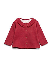Noa Noa Miniature Cardigan - RED DAHLIA