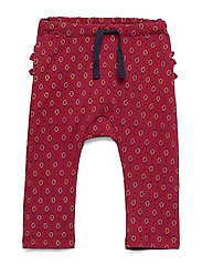 Trousers - RED DAHLIA