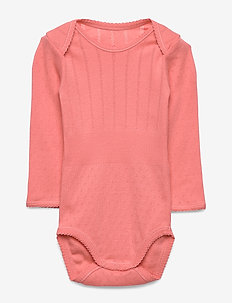 Baby Body - long-sleeved - shell pink