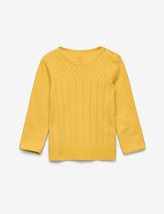 T-shirt - long-sleeved t-shirts - spicy mustard
