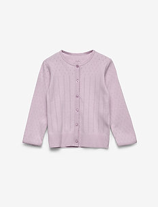 Cardigan - cardigans - lavender frost