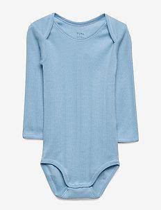 Baby Body - langærmede - dusk blue
