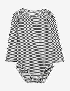 Baby Body - langærmede - black