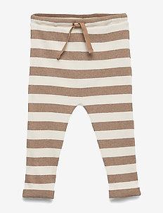 Trousers - leggings - natural