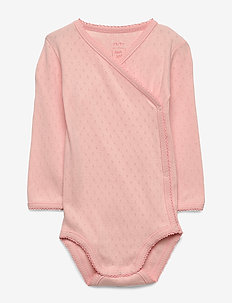 Baby Body - long-sleeved - coral cloud