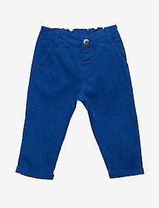 Trousers - LAPIS BLUE