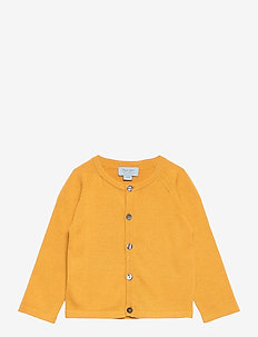 Cardigan - cardigans - ochre yellow