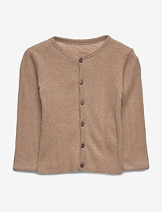 Cardigan - gebreide vesten - indian tan