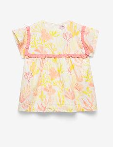 Dress short sleeve - dresses - whisper white