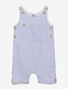 Overall - overalls - blue sapphire