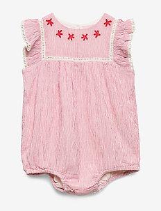 Baby Body - short-sleeved - paprika