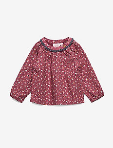 Blouse - blouses & tunics - roan rouge