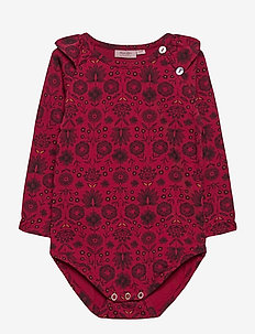 Baby Body - long-sleeved - print red