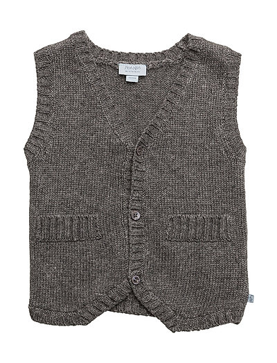 Vest - DARK GREY MELANGE