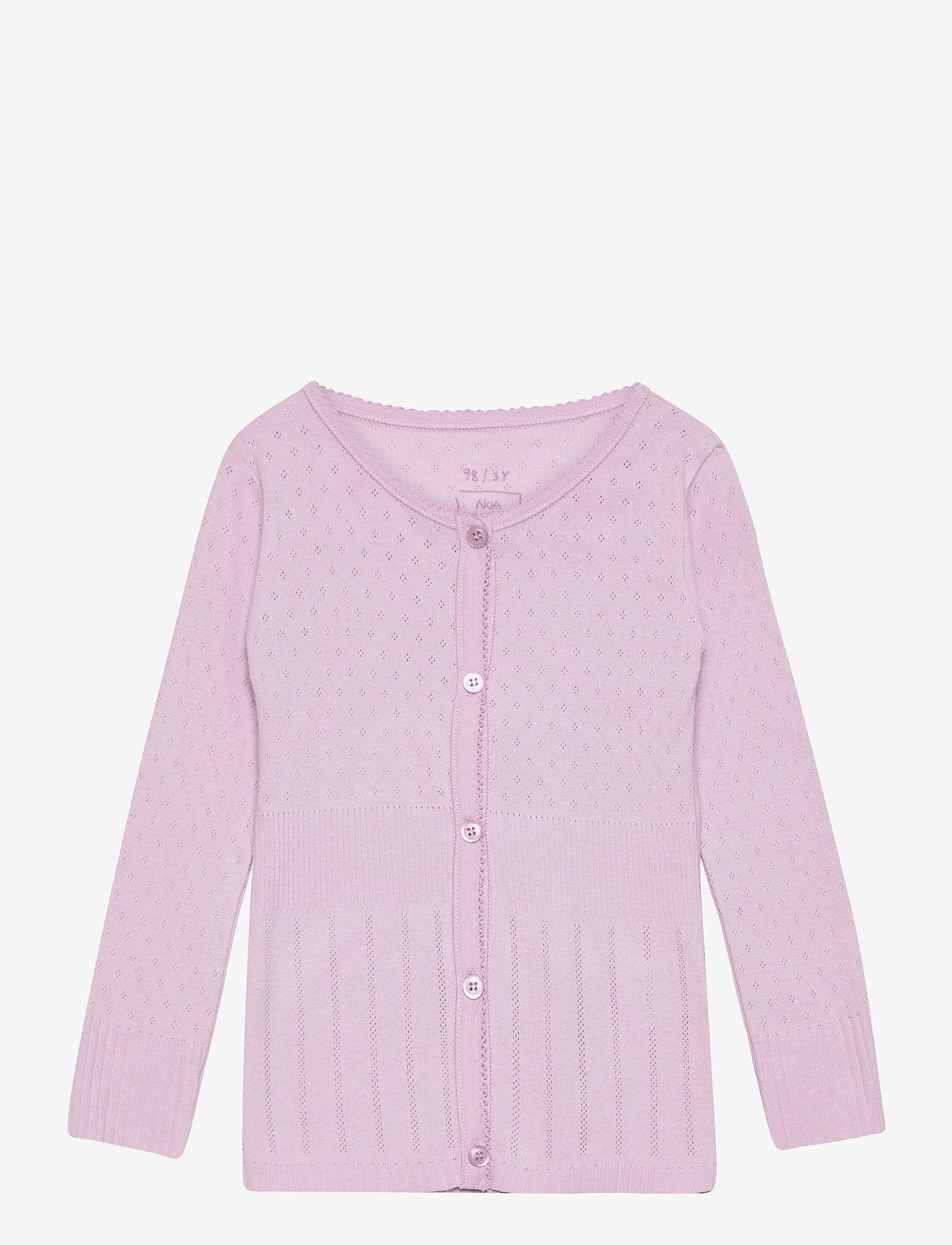 Noa Noa Miniature - Cardigan - gilets - lavender frost - 0