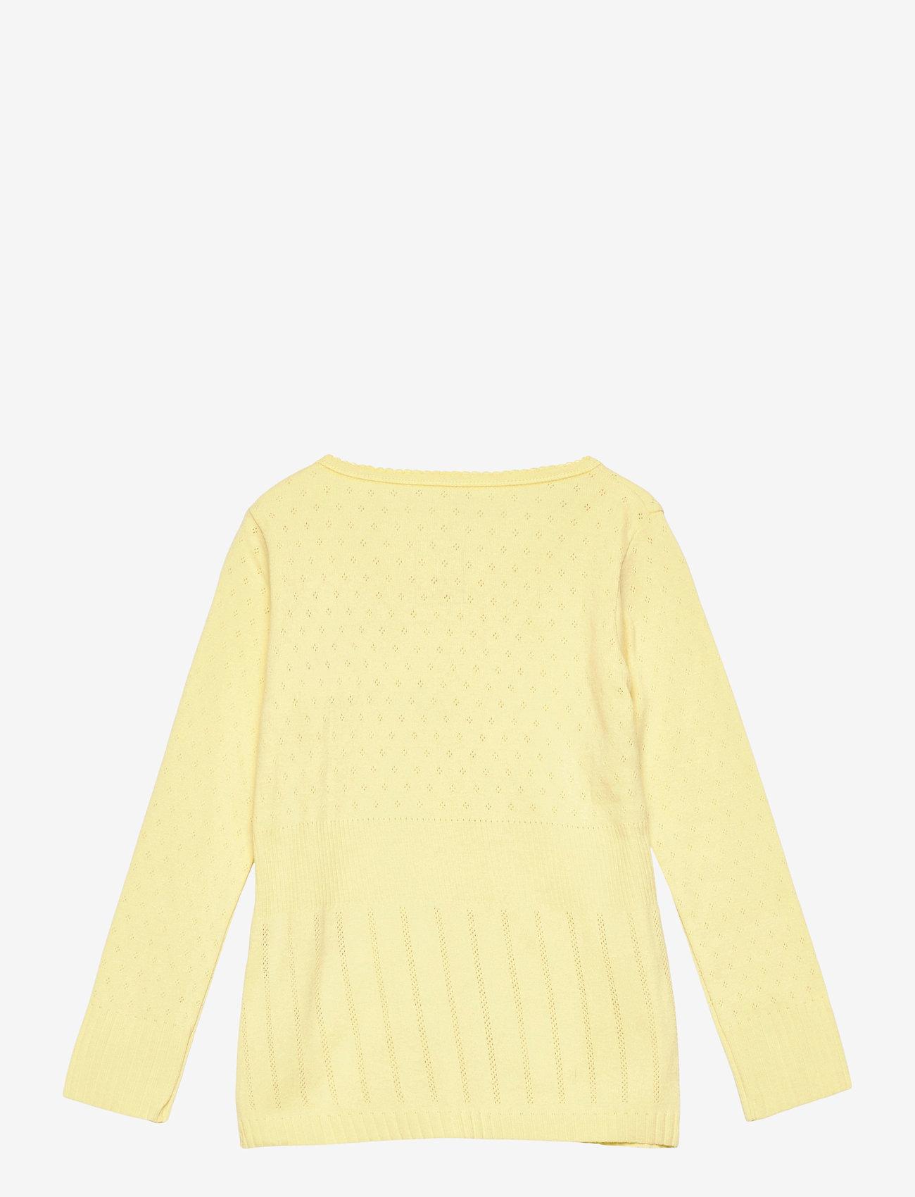 Noa Noa Miniature - Cardigan - gilets - lemon grass - 1