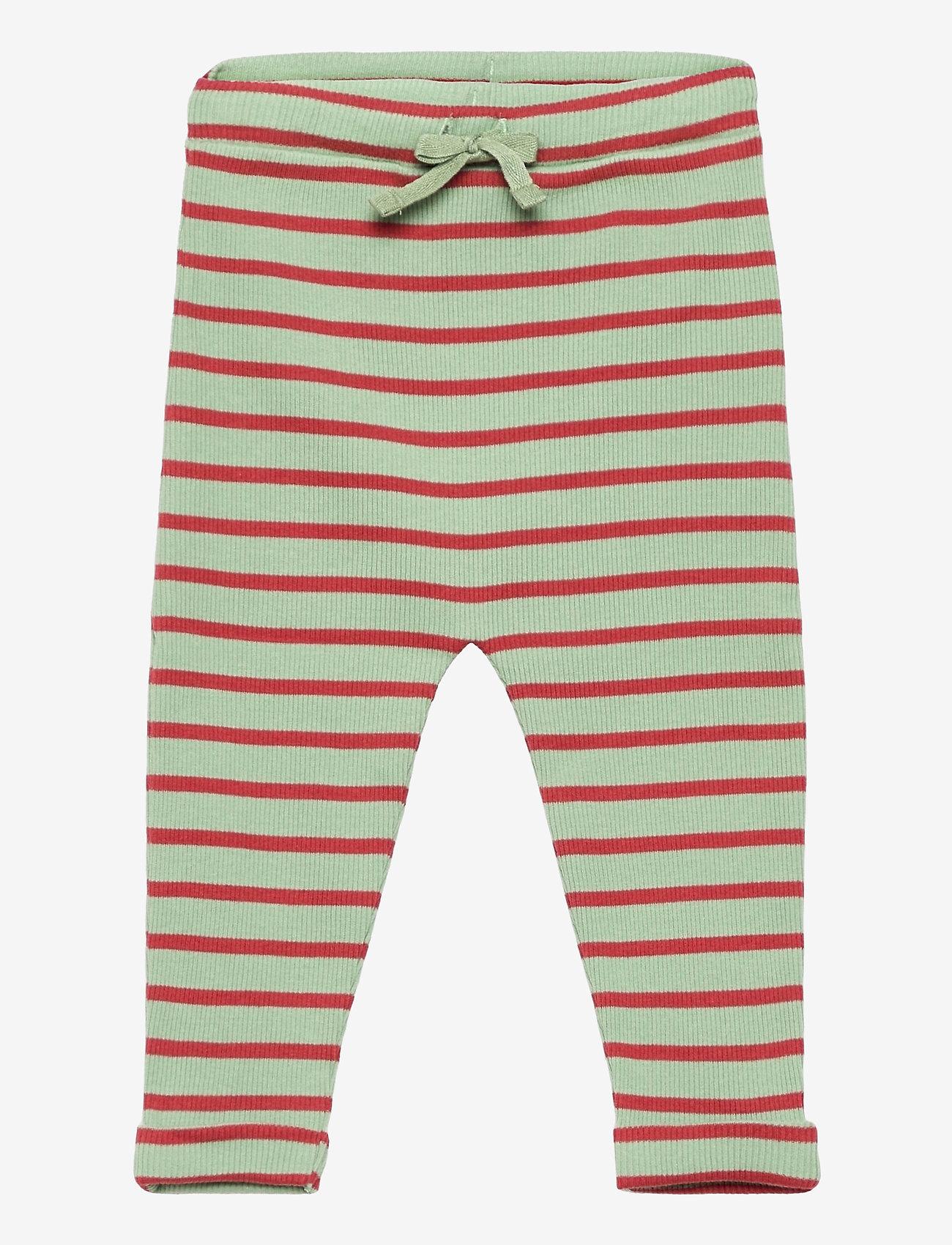 Noa Noa Miniature - Trousers - trousers - art green - 0