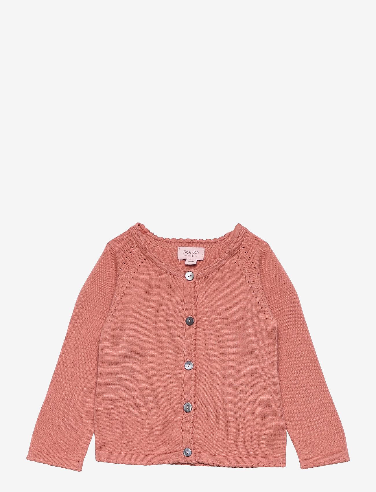 Noa Noa Miniature - Cardigan - gilets - cameo brown - 0