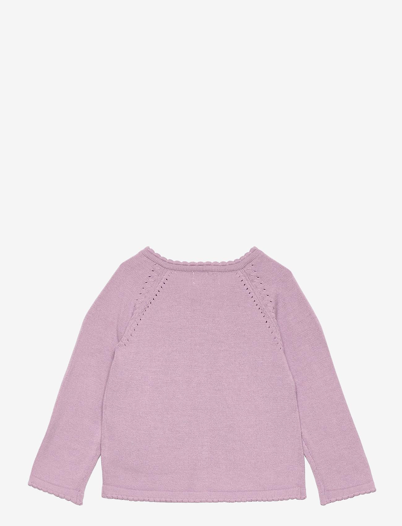 Noa Noa Miniature - Cardigan - gilets - lavender frost - 1