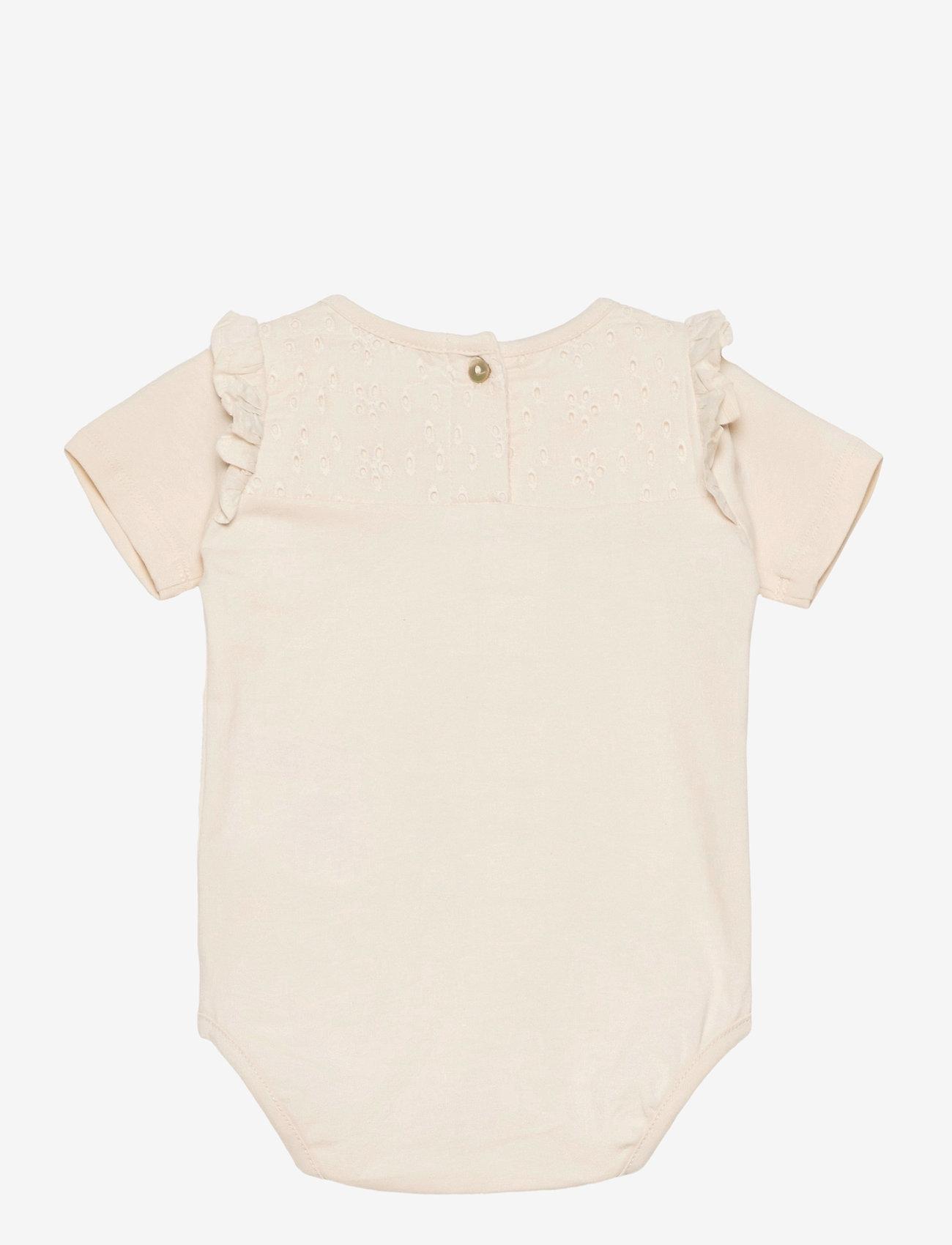 Noa Noa Miniature - Baby Body - kurzärmelige - whitecap - 1