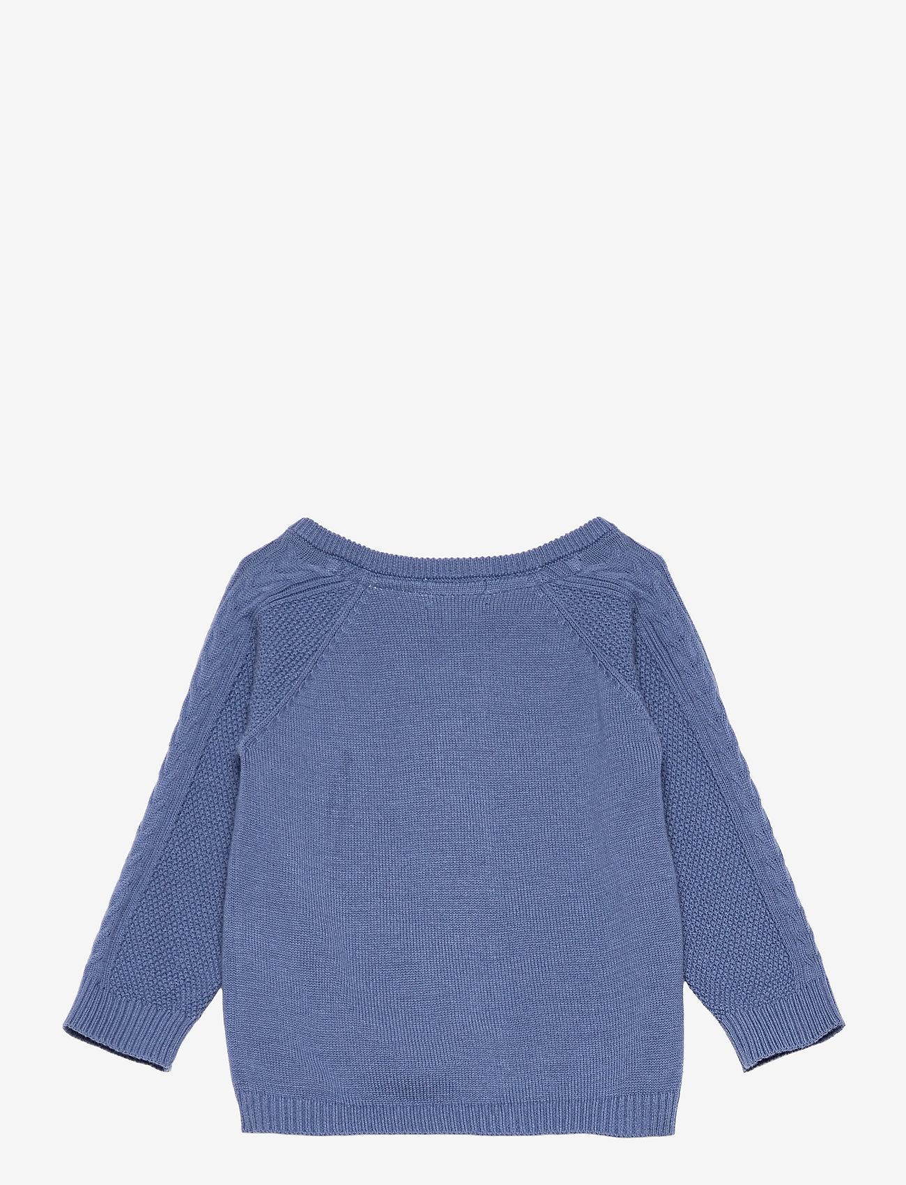 Noa Noa Miniature - Cardigan - gilets - bijou blue - 1
