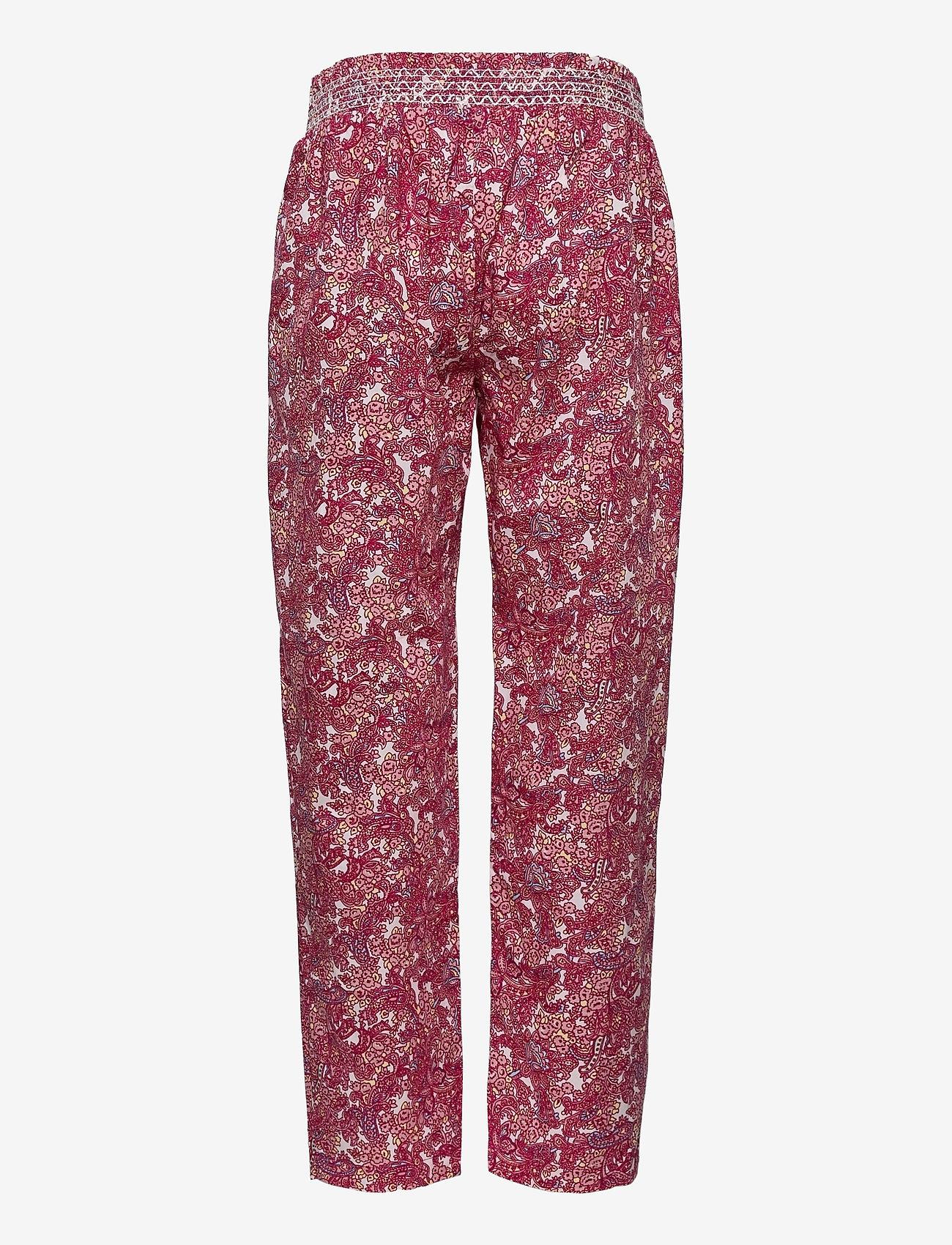 Noa Noa Miniature - Trousers - trousers - print rosa - 1
