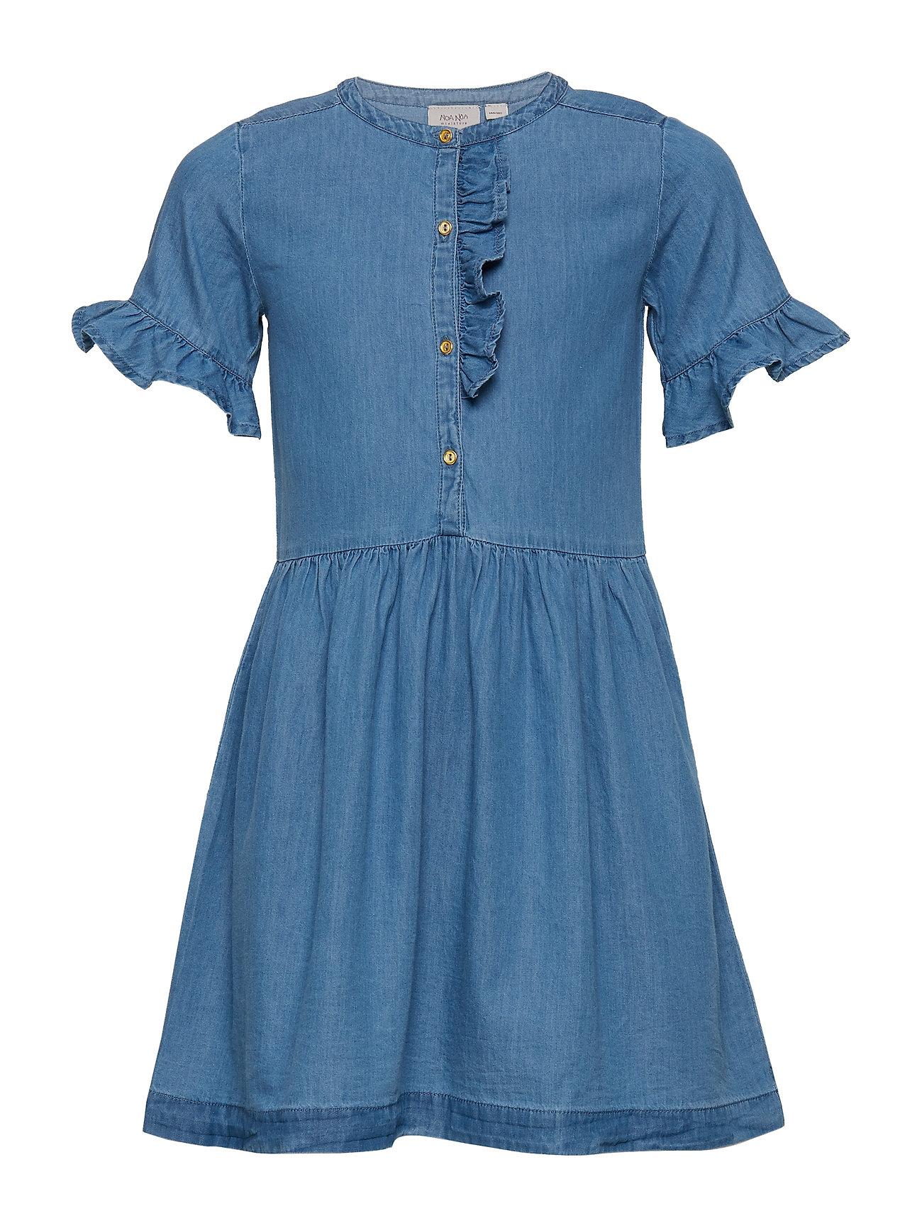 ed9293fd085 NAVY PEONY Noa Noa Miniature Dress Short Sleeve kjoler for børn ...